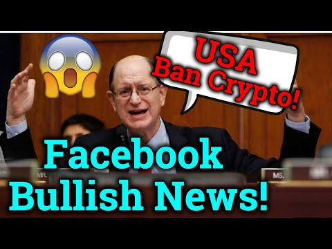 Politician Wants U.S To Ban Cryptocurrency?! Facebook Reverses Ban! Bitcoin News + Trading Analysis!