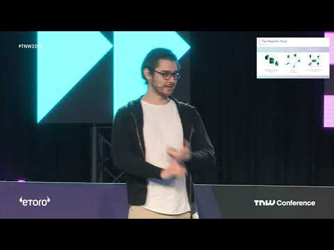 TNW Conference 2019 – IOTA – Dominik Schiener – Networks of trust in a connected world