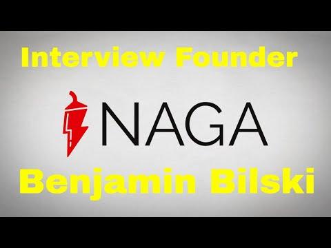 Naga ICO Interview | Founder Benjamin Bilski | Token