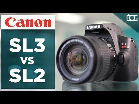 NEW Canon EOS Rebel SL3 DSLR Camera | COMPARISON