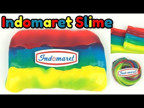 KOCAK! Indomaret ada Slimenya?! Cara Membuat Indomaret Slime