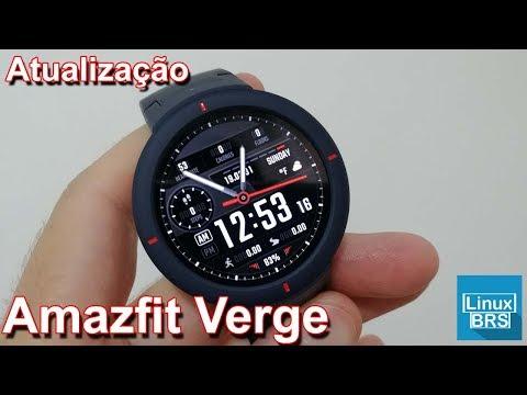 Amazfit Verge – Atualização