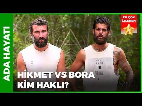 Bora' ve Hikmet'ten Tartışma Yorumu! | Survivor 66. Bölüm | Ada Hayatı