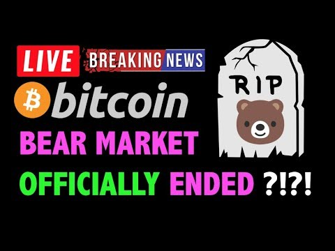 Bitcoin BEAR MARKET OFFICIALLY ENDED?! -LIVE Crypto Trading Analysis & BTC Cryptocurrency Price News