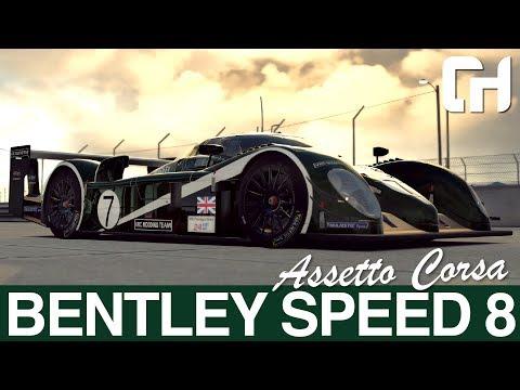 VRC Bentley Speed 8 Assetto Corsa Mod [First Look]