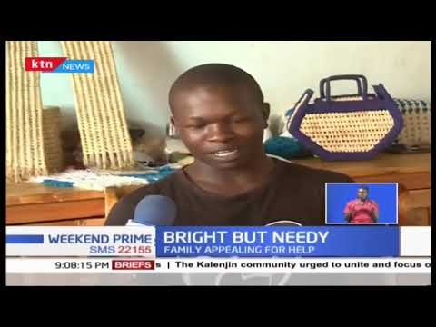 A bright but needy student on the verge of dropping out of school due to lack of fees