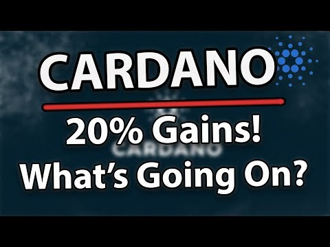 Cardano (ADA) +20% Gains! What's Going On?