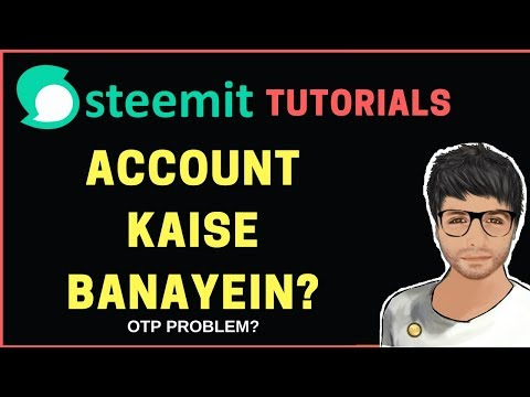 Create Steemit Account – How to Contact Help –  Hindi
