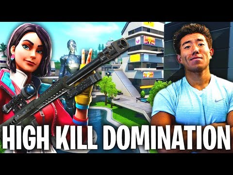 HIGH KILL SOLOS DOMINATION! NEO TILTED TOWERS!  Fortnite Battle Royale