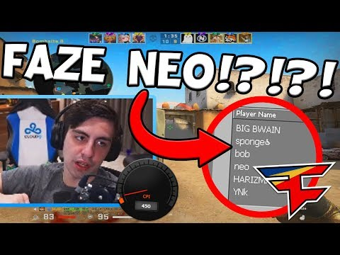 THE REAL REASON SHROUD USES 450 DPI! RIP $1,400 STICKER! FAZE NEO LEAKED!? – CS:GO TWITCH CLIPS #552