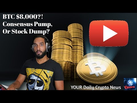 Bitcoin Braces For $8,000! – Cryptocurrency News LIVE! Ebay / BAKKT / SPEDN / More Daily Crypto News