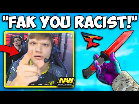 S1MPLE ENDS RACISM IN CSGO! FAZE NEO REKT VP! CS:GO Twitch Clips