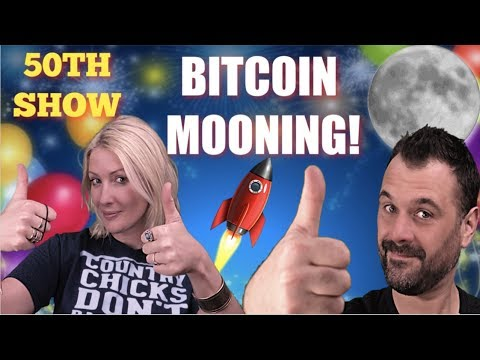 Bitcoin Mooning , Litecoin , EOS , Crypto on FIRE. 50TH SHOW!
