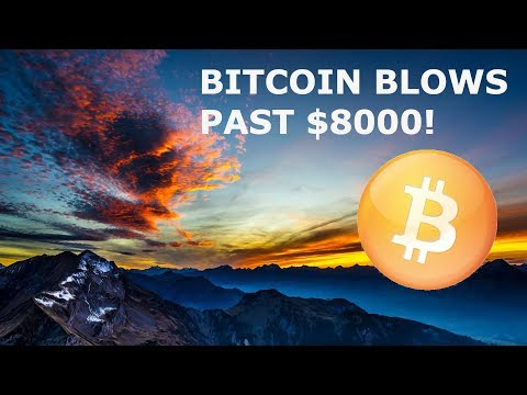 BITCOIN BLOWS PAST 8K! BAKKT SELF APPROVES! ECONOMIST TRASHES BTC! BIG RETAILERS ACCEPTING BITCOIN!
