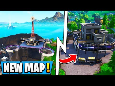 *ALL* Fortnite Season 9 Map Changes! | Loot Lake, New Slipstream Train, Neo Tilted!