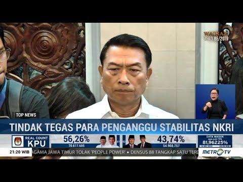 Soal Pengancam Jokowi, Moeldoko: Jangan Lagi Ada Maaf, Tindak Saja!