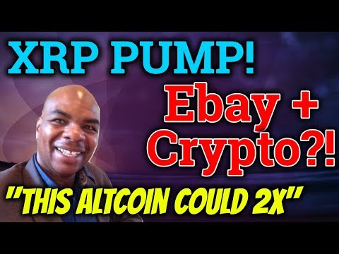 Davincij15 Says THIS Altcoin Will 2x? Ripple XRP Pump! Ebay + Cryptocurrency? Bitcoin Trading + News