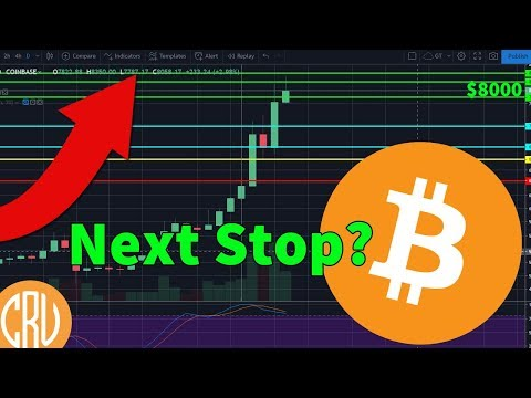 Bitcoin Above $8000 – Where to Next? | Bitcoin and Cryptocurrency News
