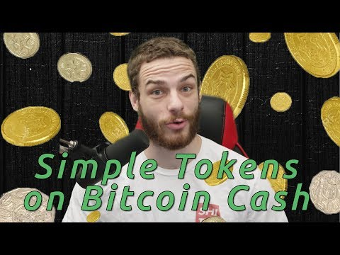 Simple Tokens on Bitcoin Cash