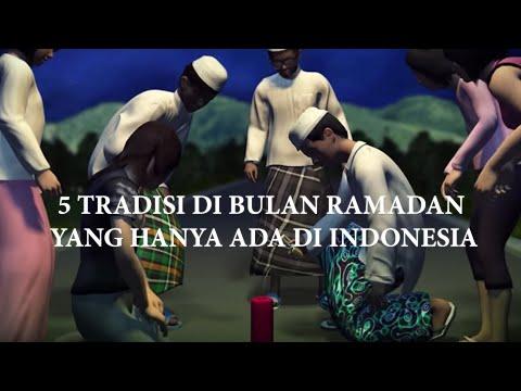 Hanya ada di Indonesia! 5 Tradisi di bulan Ramadan – TomoNews