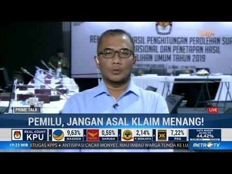 Tidak Ada Saksi BPN yang Keberatan Selama Proses Rekapitulasi KPU