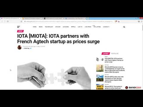 More Adoption For IOTA,PundiX & Colombia!