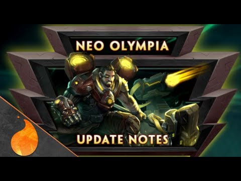 SMITE PATCH NOTES REVIEW: NEO OLYMPIA