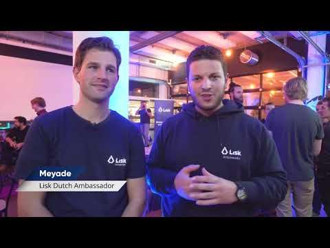 Lisk Center Utrecht announcement @ Lisk Meetup in Amsterdam