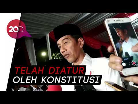 Prabowo Tolak Hasil Pemilu, Jokowi: Semua Ada Dasar Hukumnya