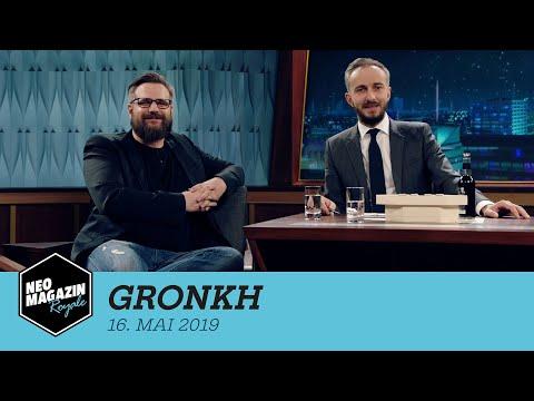 Gronkh zu Gast im Neo Magazin Royale mit Jan Böhmermann –  ZDFneo