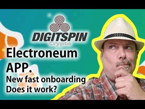 Electroneum App Upgrade:   60 second On-boarding.   Does it work ?