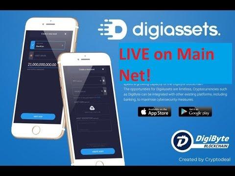 DigiByte – DigiAssets Live on MainNet!