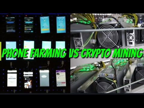 Phone Farming Versus Cryptocurrency Mining: Comparing Availability, Requirements, ROI Plus Much More