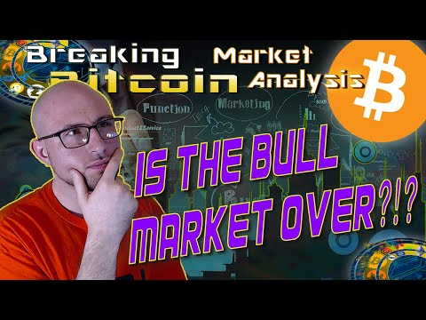 Bitcoin Breaks The Parabolic Trend?  Are We On The Verge of a MASSIVE Correction? Live Analysis