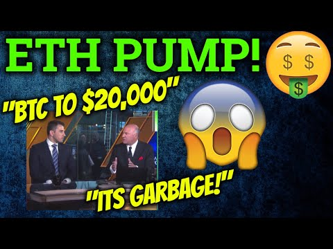 REAL Reason Kevin O'Leary/Warren Buffet Don't Like Cryptocurrency! ETH PUMP! Bitcoin Trading + News