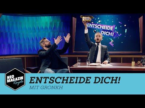 Entscheide dich! mit Gronkh   NEO MAGAZIN ROYALE mit Jan Böhmermann –  ZDFneo