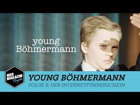 Young Böhmermann Folge 8 – Der Internetführerschein   NEO MAGAZIN ROYALE mit Jan Böhmermann