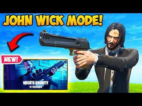*NEW* JOHN WICK LTM IS INSANE! – Fortnite Funny Fails and WTF Moments! #559