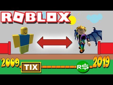 🌟Como JUGAR A ROBLOX DEL [ 2009 ] y Tener TIX!!!