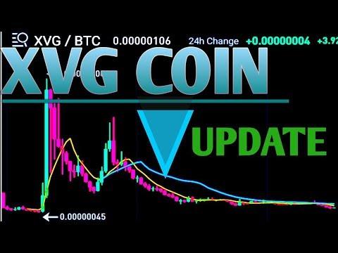 Xvg coin update