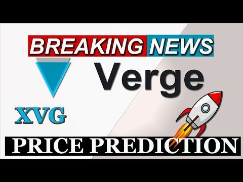 VERGE (XVG) COIN PRICE PREDICTION  | VERGE XVG LATEST NEWS TODAY #GAMESZCRYPTO 12 MAY 2019