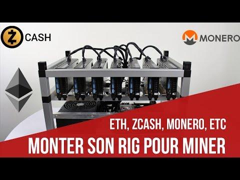 [FR] Monter son RIG  pour Miner  [Ethereum, Zcash,Monero][Valable en 2019]