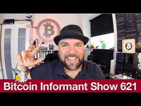 #621 Bitcoin Shorts 40Prozent gefallen, Coinbase Kauf von Xapo & Crescent Cash Bitcoin Cash via SMS
