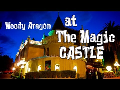 Woody Aragon at The Magic Castle