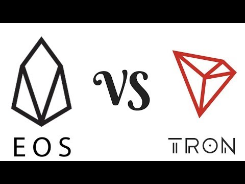 EOS vs Tron – A Practical Comparison 实际比较 (中文字幕)