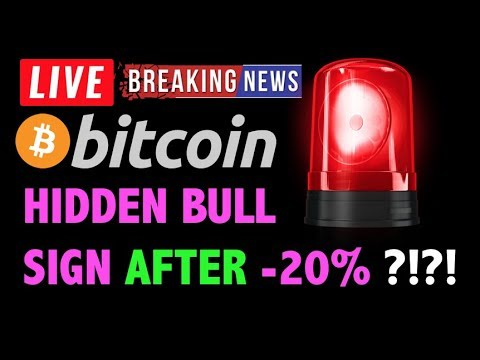 Bitcoin HIDDEN BULL SIGN AFTER -20% DROP?! – Crypto Trading Analysis & BTC Cryptocurrency Price News
