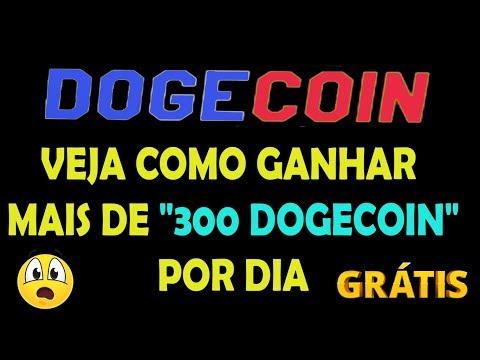 """VEJA COMO GANHAR MAIS DE """"300 DOGECOIN"""" POR DIA"""