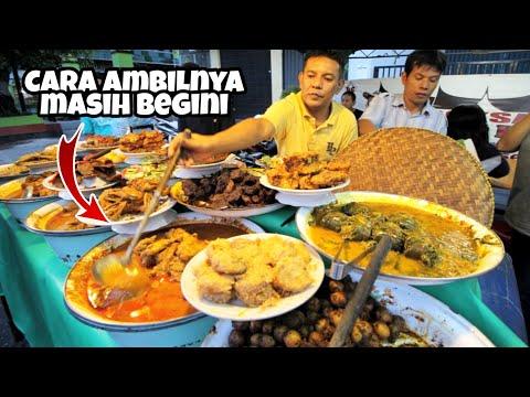 WOW ADA RUMAH MAKAN PADANG KAKI LIMA YANG LEGENDARIS DI JAKARTA !!