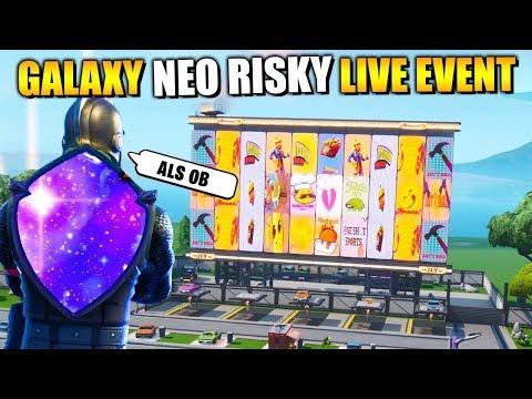 NEO Risky Reels und Galaxy Schild? 🔥 Neues LIVE EVENT? 📺 Alle Leaks check   Fortnite Deutsch