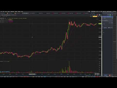 Watching Binance Coin BNB Live (expecting a crash)
